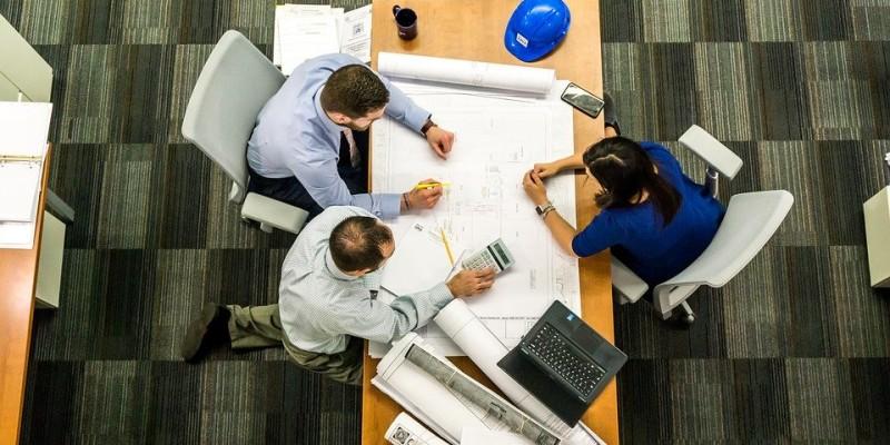 meeting, bureau, architecte, architecte d'intérieur, décorateur d'intérieur