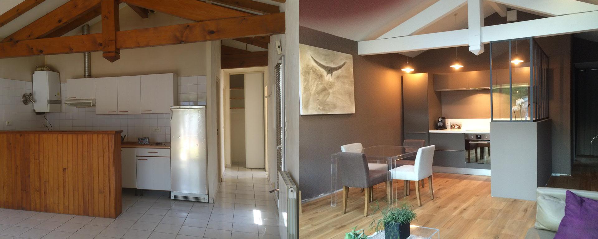 Home Staging Photos Avant Après relooking et home staging par un architecte d'intérieur parisien